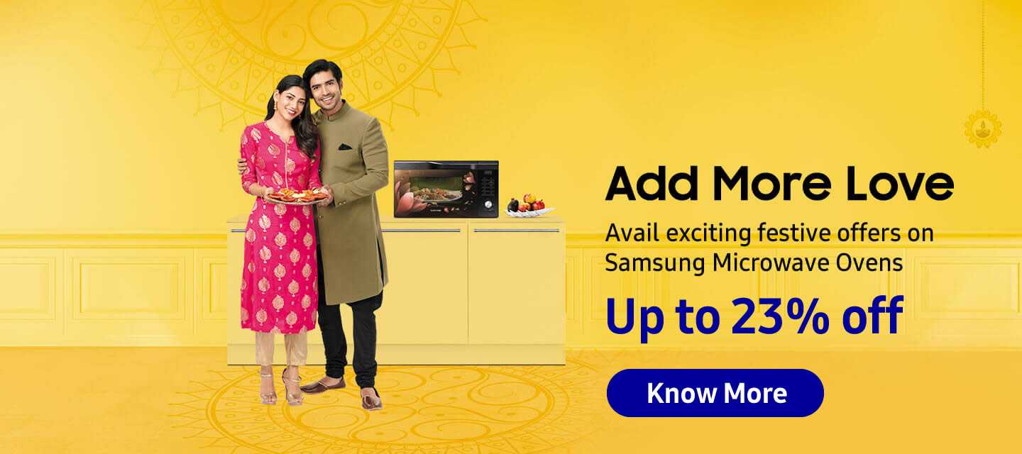 Samsung Microwave Oven Corporate Employee Offer