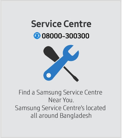 Samsung Service Center. Call or Visit to get Samsung Exclusive Service